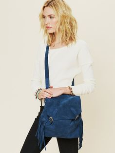 Sabrina Tach Johannesburg Fringe Backpack at Free People Clothing Boutique