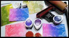 DIY Rainbow Resist With Mini Ink Pads! Stamp school  vinkkejä: 1. Varmista, että Versmark muste on kuivunut, ennen kuin Brayer on muste. 2. Käytä väriaine musteita resistejä. 3. Tack alas inkpads jotta leima lohkoon helppokäyttöistä. Käytin juliste kitti tähän (AKA sininen tack) 4. Jos käytät säännöllisesti kartonkia tai valokuvapaperille muistaa thst Versamark vesileima kynä ei toimi, mennä Versamark alusta.