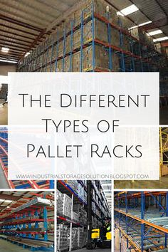 Pallet Racking and Storage Materials