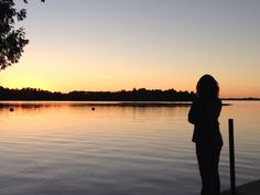 Pelican Lake, Orr Minnesota sunset
