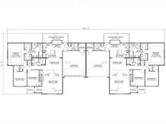 Duplex Plans Pinterest House Plans Plan Plan And Porches