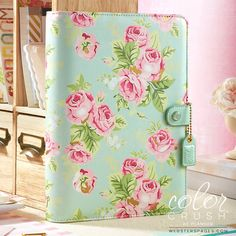 Hey, I found this really awesome Etsy listing at https://www.etsy.com/listing/502274653/a5-binder-color-crush-mint-floral