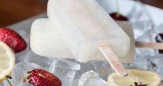 Popsicles με λεμόνι Συνταγή | Άκης Πετρετζίκης Lemon Popsicles, Ice Pops, Sweet Recipes, Panna Cotta, Recipies, Ice Cream, Sweets, Cheese, Ethnic Recipes