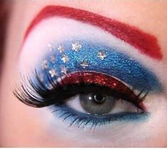 4th of July Eyes . . . .
