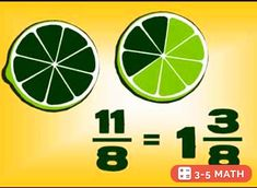Free Math video lesson: Changing Mixed Numbers to Improper Fractions (made by a student!)