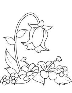 Bellflower coloring page from Bellflower category Select from 29610 printable crafts of cartoons, nature, animals, Bible and many more is part of Free printable coloring pages - Hand Embroidery Patterns Free, Embroidery Flowers Pattern, Embroidery Designs, Art Drawings Sketches Simple, Art Drawings For Kids, Free Printable Coloring Pages, Free Coloring Pages, Coloring Sheets, Adult Coloring