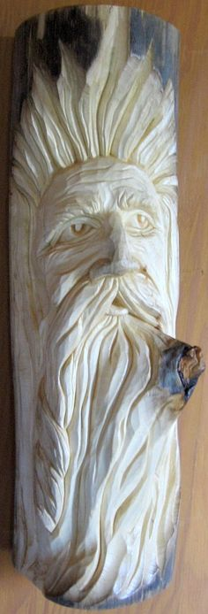 Branch in the Beard - 13 x 40 cm  (5 x 16 inches)