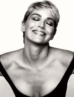 Sharon Stone no one does short hair like her!