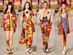 God Save the Queen and all: Tommy Hilfiger Primavera / Verano 2016 NYFW #tommyhilfiger #ss16 #nyfw