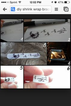 DIY bracelet. Best idea ever and looks AWESOME!!!!!!
