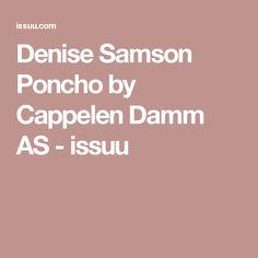 Denise Samson Poncho by Cappelen Damm AS - issuu