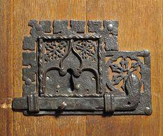 Lock. Date: 15th–16th century. Culture: European. Medium: Iron. The Metropolitan Museum Of Art Collection.