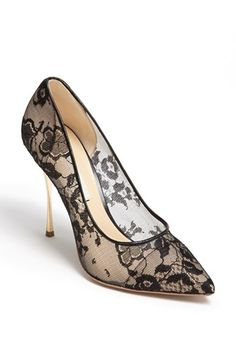Nicholas Kirkwood Lace Pump available at #Nordstrom