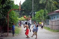 Basketball is everywhere