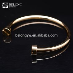 Check out this product on Alibaba.com APP BLCB0025 accessories for women fashion jewelry gold nail bracelet bangle