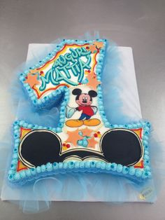 Birthday Cake Kids Boys, Number Birthday Cakes, Mickey Cakes, Live Wallpaper Iphone, Thing 1, Cake Smash, Amazing Cakes, Party Supplies, Baby Boy