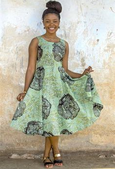 Women's Ethical Fashion using African Print Fabric