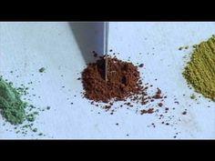 6 1 Témpera al huevo y colores naturales: Tierras - YouTube