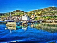 Korissia's port Dolores Park, Island, Travel, Viajes, Islands, Destinations, Traveling, Trips
