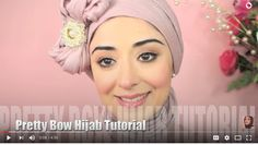 Hijab Tutorial Pretty Bow Turban - From My Ariana Grande Makeup Tutori – Hespirides Gifts
