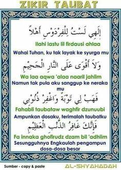 Zikir taubat Reminder Quotes, Self Reminder, Words Quotes, Life Quotes, Prayer Verses, Quran Verses, Quran Quotes, Hijrah Islam, Doa Islam