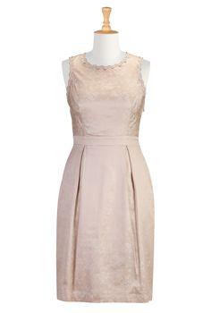 Elegant Dresses, Semi Formal Dresses Womens Full sleeve dresses - Shop for Empire dresses - Custom sized and styled to suit you -   eShakti.com $79.95