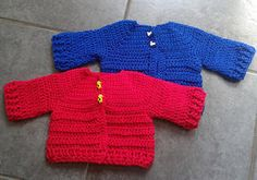 Chunky Knit Baby Cardigan Pattern Free : Crochet anchor, Free pattern and Anchors on Pinterest
