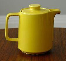 Vintage MELITTA Yellow Glaze Porcelain Ceramic Coffee Pot 4 cups 32 oz.