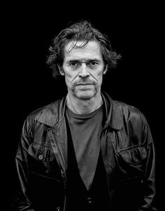 Willem Dafoe, by Helmut Newton.
