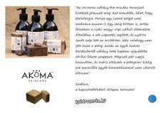 Szabina osztotta meg velünk tapasztalatait az Akoma afrikai fekete szappanról. Köszönjük :]
