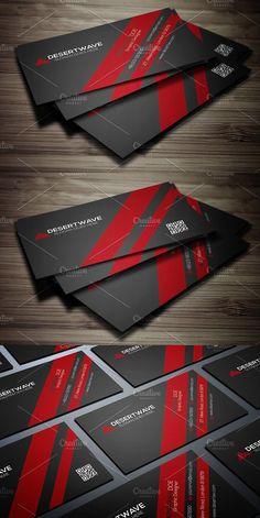 Corporate Business Card. Creative Business Card Templates