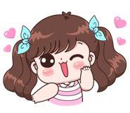 Boobib Lovely Daily (... | 光頭賣 - 最大的LINE貼圖代購網 | 全館通通降五元 VIP儲值300送40 Baby Girl Earrings, Cute Couple Cartoon, Cartoon Gifs, Girl Humor, Cute Stickers, Cute Couples, Cute Girls, Disney Characters, Fictional Characters