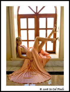 Love this window, this outfit, this pose!!!