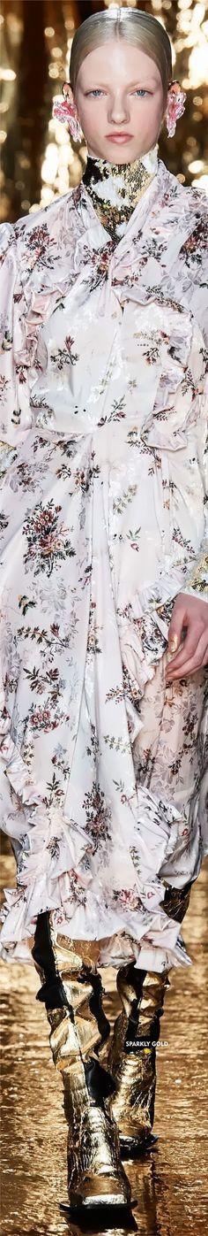 Preen by Thornton Bregazzi Fall 2020 RTW Thornton Bregazzi, Just Be Happy, Floral Fashion, Fashion Brands, Runway, Ruffle Blouse, Couture, Dresses, Women