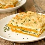 Butternut Squash and Spinach Lasagna {Vegan} - TheVegLife
