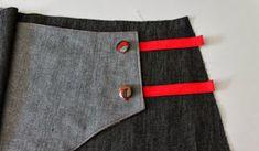 La Pantigana: MsMSW: Falda Siri (sew along). Bastilla, Siri, Sewing, Fashion, Skirts, Dressmaking, Boss, Moda, Fashion Styles