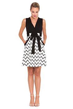 Bundle 2 Items Olian Sandra Chevron Maternity Dress + Tummy...