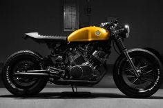 nonconcept: Custom Yamaha Virago Cafe Racer by...