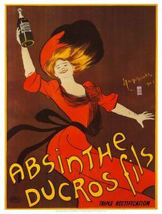 Vintage absinthe advert