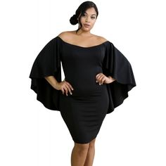 4d2974c0026 Bell of the ball! A timeless bodycon dress in a curvaceous plus size for  full