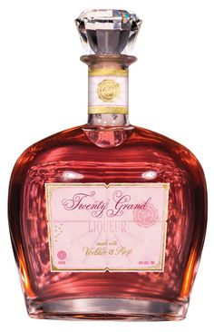 Twenty Grand Rosé Infused Vodka Liqueur: Twenty Grand takes premium vodka and infuses it with Rosé Champagne for a truly unique tasting experience. Pour 1½ oz Twenty Grand Rosé Liqueur into a rocks glass filled with ice and top with seltzer. Garnish with fresh raspberries and enjoy! – Distiller's Notes