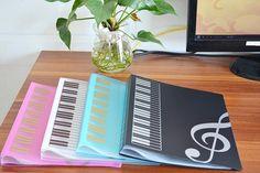 Music Sheet File Paper Documents Storage Folder.A4 Size,40 Pockets
