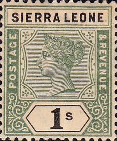 Sierra Leone 1896 Queen Victoria SG 45 Fine Used Scott 38 Other African Stamps HERE