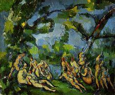 Paul Cézanne  The Bathers  1898 - 1905