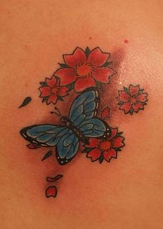 98 exemplos de tatuagens de borboletas