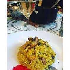 Beautiful vegan saffron mushroom risotto yesterday night  #food #saffron #yum #instafood #yummy #amazing #instagood #photooftheday #sweet #dinner #lunch #breakfast #fresh #tasty #food #delish #delicious #eating #foodpic #foodpics #eat #hungry #foodgasm #hot #foods