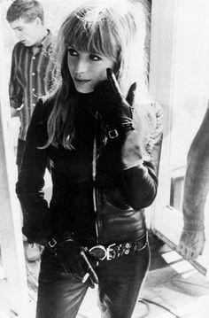 Marianne Faithfull. Metal & Leather.