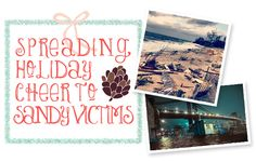 A day of thanks and giving. Help spread cheer to Sandy victims!