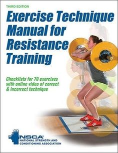 [EPUB] Exercise Technique Manual for Resistance Training Edition with Online Video by National Strength & Conditioning Association Book - Exercise Technique Manual for Resistance Training Edition with Online Video PDF Resistance Workout, Muscle Groups, Free Reading, No Equipment Workout, Fitness Equipment, Strength Training, Reading Online, Books Online, Audio Books