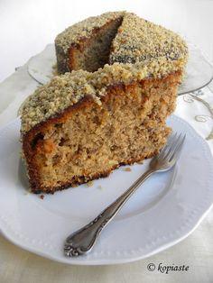 to Greek Hospitality Greek Cake, Greek Yogurt Cake, Greek Sweets, Greek Desserts, Greek Yogurt Recipes, Arabic Dessert, Arabic Sweets, Arabic Food, Date And Walnut Cake